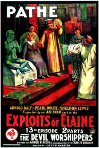 Exploits of Elaine - 43 x 62 Movie Poster - Bus Shelter Style A