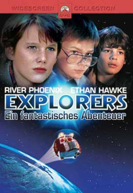 Explorers - 11 x 17 Movie Poster - German Style A