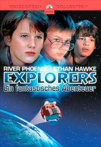 Explorers - 27 x 40 Movie Poster - German Style A