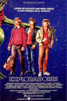 Explorers - 27 x 40 Movie Poster - Spanish Style A