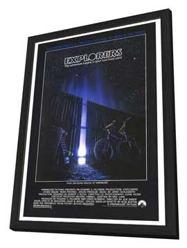 Explorers - 27 x 40 Movie Poster - Style A - in Deluxe Wood Frame
