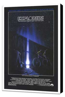 Explorers - 27 x 40 Movie Poster - Style A - Museum Wrapped Canvas