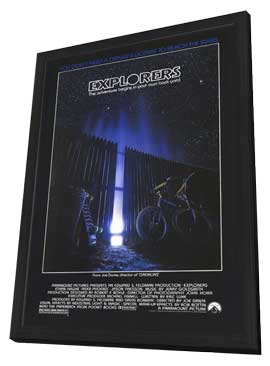 Explorers - 11 x 17 Movie Poster - Style A - in Deluxe Wood Frame