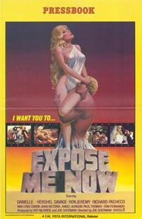 Expose Me Now - 27 x 40 Movie Poster - Style A