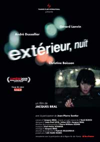 Exterior Night - 11 x 17 Movie Poster - French Style A
