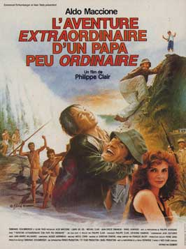Extraordinary Adventure of an Ordinary Papa - 11 x 17 Movie Poster - French Style A