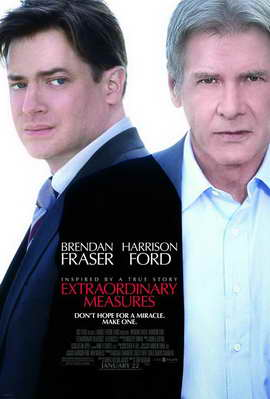Extraordinary Measures - 11 x 17 Movie Poster - Style A