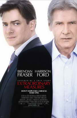 Extraordinary Measures - 27 x 40 Movie Poster - Canadian Style A