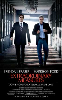 Extraordinary Measures - 43 x 62 Movie Poster - Bus Shelter Style A