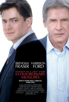 Extraordinary Measures - 43 x 62 Movie Poster - Bus Shelter Style B