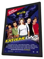 Extreme Days - 11 x 17 Movie Poster - Style A - in Deluxe Wood Frame