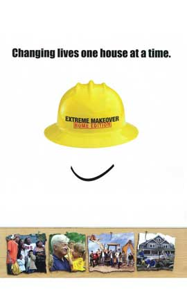 Extreme Makeover: Home Edition - 11 x 17 TV Poster - Style A
