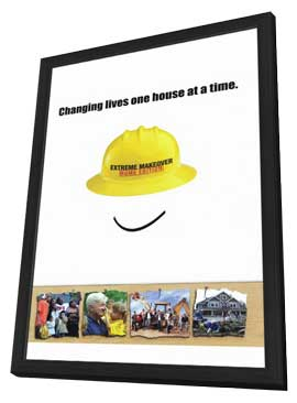 Extreme Makeover: Home Edition - 11 x 17 TV Poster - Style A - in Deluxe Wood Frame