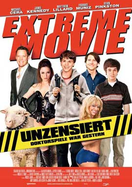 Extreme Movie - 11 x 17 Movie Poster - German Style A