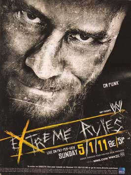 Extreme Rules (TV) - 11 x 17 TV Poster - Style A