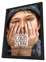 Extremely Loud and Incredibly Close - 27 x 40 Movie Poster - Style A - in Deluxe Wood Frame