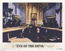 Eye of the Devil - 11 x 14 Movie Poster - Style E