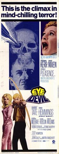 Eye of the Devil - 14 x 36 Movie Poster - Insert Style A