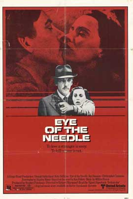 Eye of the Needle - 11 x 17 Movie Poster - Style A