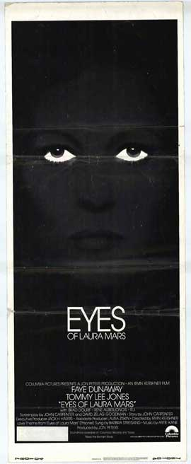 Eyes of Laura Mars - 14 x 36 Movie Poster - Insert Style A
