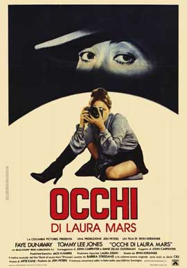 Eyes of Laura Mars - 11 x 17 Movie Poster - Italian Style A
