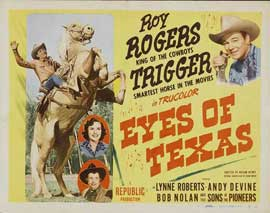 Eyes of Texas - 11 x 14 Movie Poster - Style A