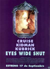 Eyes Wide Shut - 11 x 17 Movie Poster - Spanish Style A