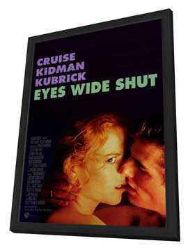 Eyes Wide Shut - 27 x 40 Movie Poster - Style B - in Deluxe Wood Frame