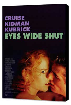 Eyes Wide Shut - 27 x 40 Movie Poster - Style B - Museum Wrapped Canvas