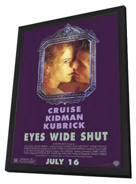 Eyes Wide Shut - 11 x 17 Movie Poster - Style A - in Deluxe Wood Frame