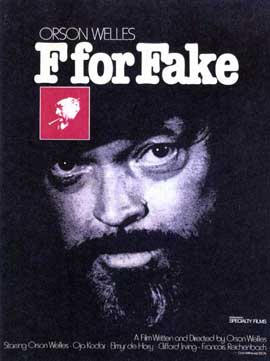 F for Fake - 11 x 17 Movie Poster - Style A