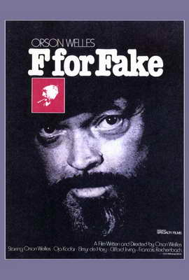 F for Fake - 27 x 40 Movie Poster - Style A