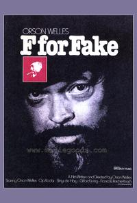 F for Fake - 43 x 62 Movie Poster - Bus Shelter Style A