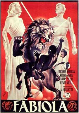 Fabiola - 11 x 17 Movie Poster - Spanish Style A