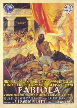 Fabiola - 27 x 40 Movie Poster - Italian Style A