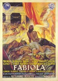 Fabiola - 43 x 62 Movie Poster - Italian Style A