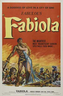 Fabiola - 11 x 17 Movie Poster - Style A