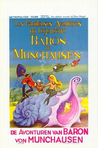 Fabulous Adventures of the Legendary Baron Munchausen - 11 x 17 Movie Poster - Belgian Style A