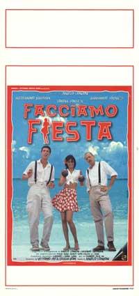 Facciamo fiesta - 13 x 28 Movie Poster - Italian Style A
