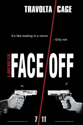Face/Off - 11 x 17 Movie Poster - Style E