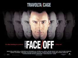 Face/Off - 30 x 40 Movie Poster UK - Style A
