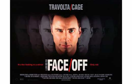 His face possibly too   Face Off Movie