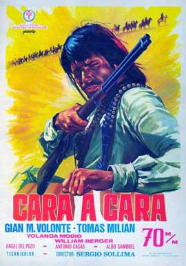 Face to Face - 11 x 17 Movie Poster - Spanish Style A