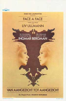 Face to Face - 11 x 17 Movie Poster - Belgian Style A