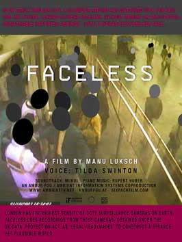 Faceless - 43 x 62 Movie Poster - UK Style A