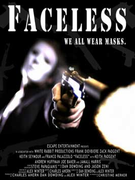 Faceless - 43 x 62 Movie Poster - Bus Shelter Style A