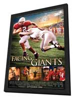 Facing the Giants - 27 x 40 Movie Poster - Style A - in Deluxe Wood Frame
