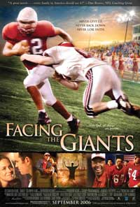 Facing the Giants - 43 x 62 Movie Poster - Bus Shelter Style A