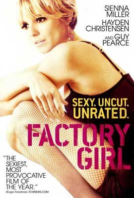 Factory Girl - 27 x 40 Movie Poster - Style C