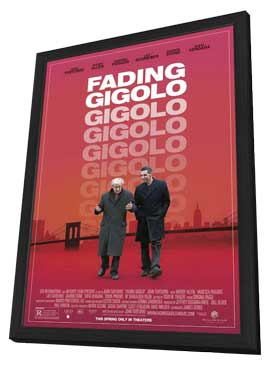 Fading Gigolo - 11 x 17 Movie Poster - Style A - in Deluxe Wood Frame